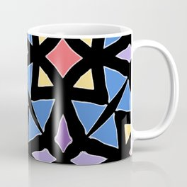 Stained Glass Color Pattern Art Coffee Mug