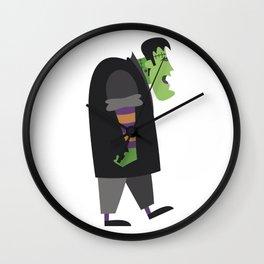 Halloween cartoon 14 Wall Clock