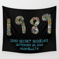 1989 Wall Tapestries featuring 1989 Secret Sessions Anniversary by Alexander Studios
