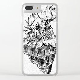 Tiny Home Clear iPhone Case