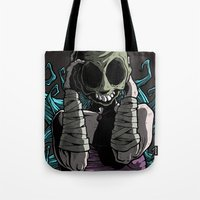 butcher billy Tote Bags featuring Destiny Butcher by JGag