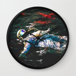 Going With The Flow  Wall Clock