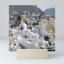 Santorini Island  Mini Art Print