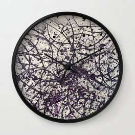 Echoes (into the wood) Wall Clock