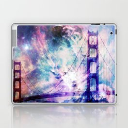 ultra violet golden gate bridge Laptop & iPad Skin