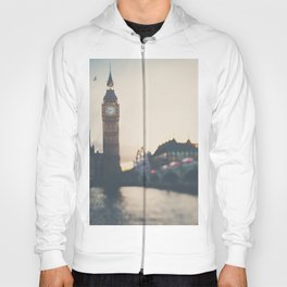 sunset over the city ... Hoody