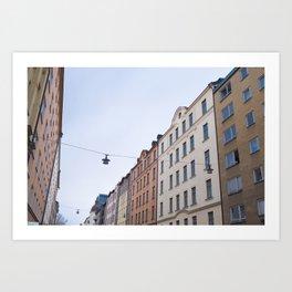 Södermalm (Stockholm, Sweden) Art Print