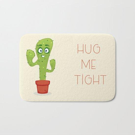 Hug the Cactus Bath Mat