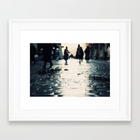 shopping Framed Art Prints featuring Shopping by Erik Witsoe Photography