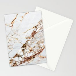 Manhattan Gold Marble Stone Stationery Cards