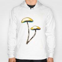 mushroom Hoodies featuring mushroom by gaus