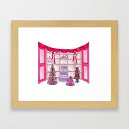 Inside The Cake Shop Framed Art Print