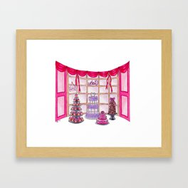Inside The Cake Shop Framed Art Print