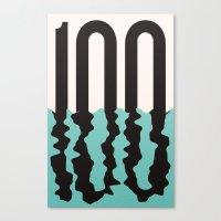 the 100 Canvas Prints featuring #100 by Matt Hunsberger