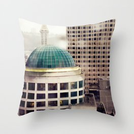 Seattle Plate II Throw Pillow