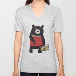 Boomer bear Unisex V-Neck