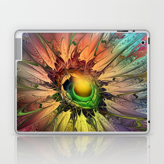 Miracle Flower Laptop & iPad Skin