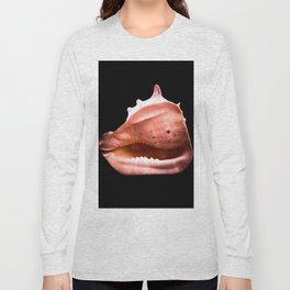 Open Mouth Shell Long Sleeve T-shirt