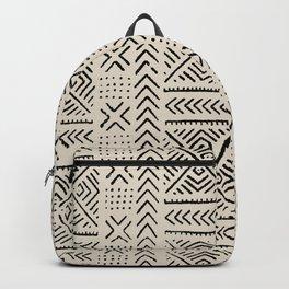 Line Mud Cloth // Bone Backpack