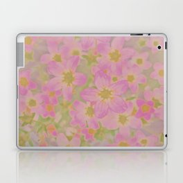 Pink Floral, The Earth Laughs In Flowers Laptop & iPad Skin