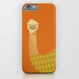 Hello Emu iPhone Case