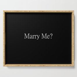 Marry Me? Proposal Tools Serving Tray