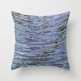 Capillary Wave Throw Pillow