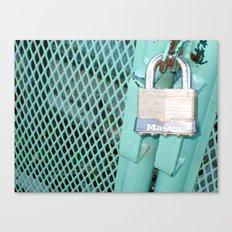 Behind Locked Gates Canvas Print