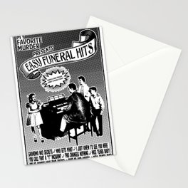 EASY FUNERAL HITS Stationery Cards