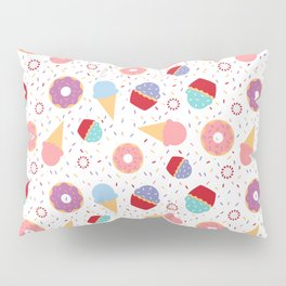 Donuts party Pillow Sham
