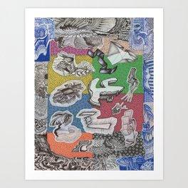 Expiration Conglomerate Art Print