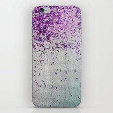 It's Raining Pink Sparkles! iPhone & iPod Skin