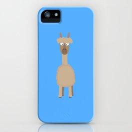 Brown Alpaca   iPhone Case