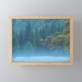 Fog at The Meadow Framed Mini Art Print