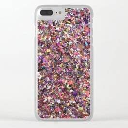 Sparkling Moments Clear iPhone Case