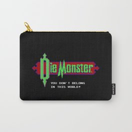 Castlevania - Die Monster. You Don't Belong In This World! Carry-All Pouch