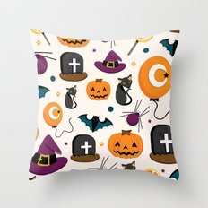 HALLOWEEN3 Throw Pillow