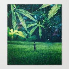 Cannabis Forest Canvas Print