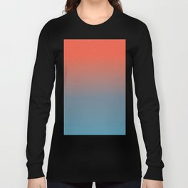 Starry Ombre Sky Gradient Pattern 3 Long Sleeve T-shirt