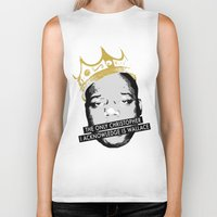 biggie Biker Tanks featuring Biggie by JulieAaland