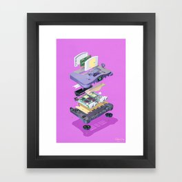 Assembly Required 6 Framed Art Print