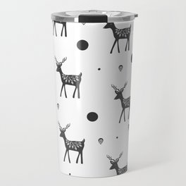 Random Frolicking fawns Travel Mug