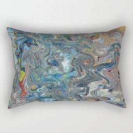 Abstract Oil Painting 19 Rectangular Pillow
