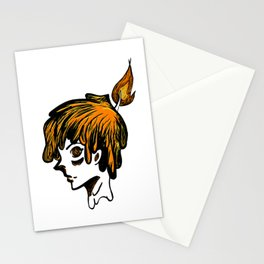 Candle Head Stationery Cards