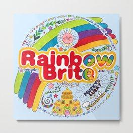Rainbow Brite Metal Print