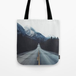 Mountain Road #forest Tote Bag