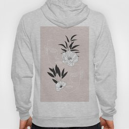 Two Faces Floral Hoody