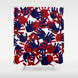 evidence v3: America, F*ck Yeah Shower Curtain