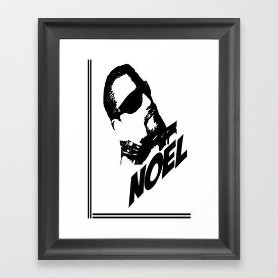 Noel Framed Art Print