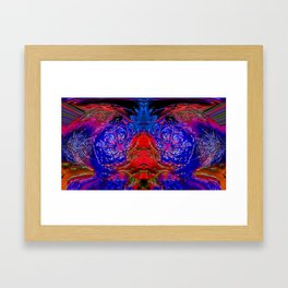 Fire Sorceress Framed Art Print